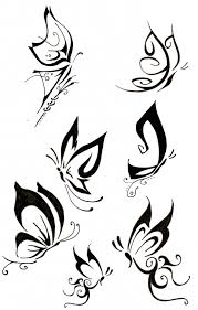 small butterfly drawing simple butterfly tattoos search