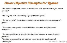 Whats A Good Job Objective For Resumes by Example Resume Objective Cover Letter Example Resume Objective