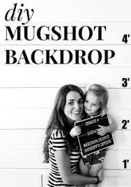 mugshot backdrop send you the diy mugshot party kit party kit mystery