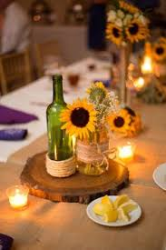 Sunflower Wedding Centerpieces by Rustic Wildflower Sunflower Centerpieces Vintage Magnolia