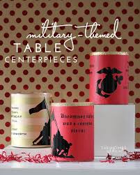 Ball Table Decorations Easy Military Table Centerpieces The Homes I Have Made