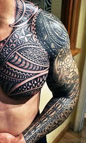 80 splendid all black tattoos on chest