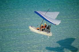 gommone volante modello fib flying boat