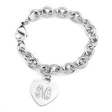 Engraved Charms Personalized Charm Bracelets Custom Charm Bracelets