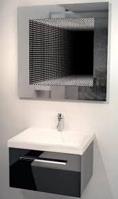 bathroom infinity mirror gift idea perfect reflection led bathroom infinity mirror gift