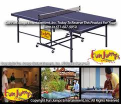 Ping Pong Table Rental Ping Pong Table Game Rental Twin Cities Minneapolis Saint Paul