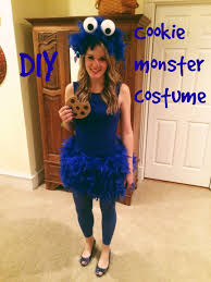 halloween cookie monster costume easy food halloween costumes