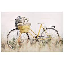 canvas bicycle canvas art wall decor bouclair com for the home