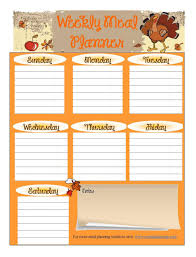 thanksgiving tremendousanksgiving menu planner image ideas