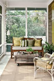 Screened In Porch Decor Tiny Porches And Patios That Are Giving Us Major Inspiration