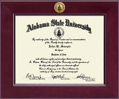 of alabama diploma frame alabama state century gold engraved diploma frame in