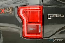 2015 ford f150 tail lights 2015 ford f 150 4x4 lariat review web2carz