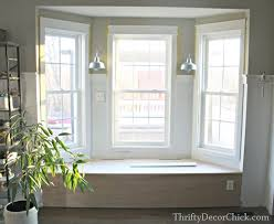 How To Build A Window Seat In A Bay Window - a dream realized from thrifty decor