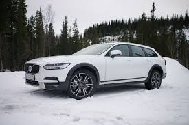 used volvo trucks in canada 2017 volvo v90 cross country is smooth on road awesome on ice
