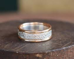 Wedding Ring Metals by Mixed Metal Rings Etsy