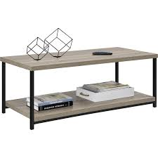 Coffee Tables With Storage by Amazon Com Altra Elmwood Coffee Table Sonoma Oak Kitchen U0026 Dining