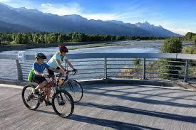Jackson Hole Map Jackson Hole And Grand Teton Biking U0026 Pathways