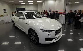 new maserati sedan dealership unveils new maserati levante suv boston herald