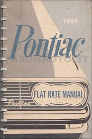 1961 pontiac air conditioning repair shop manual original