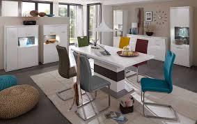 Einrichtungsvorschlag Esszimmer Mca Furniture Trento Säulentisch Ausziehbar Esstisch Weiß