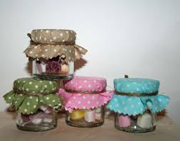 candy favours sweet jar favour dolly mixtures polka dot