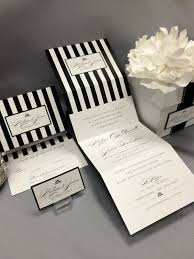 wedding invitations black and white black and white striped wedding invitations black and white