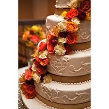 Fall Flowers For Wedding Wedding Flowers Cake Red Orange Fall Colors Kd Loftis