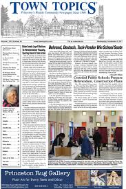 town topics princeton u0027s weekly community newspaper since 1946