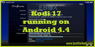 kodi for android run kodi 17 0 on your android 4 4 device best for kodi