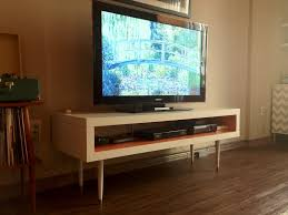 tv stands incredible long thin tv stand images concept strand of