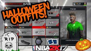 nba 2k17 u2022 new limited halloween clothes released u2022 fresh asf