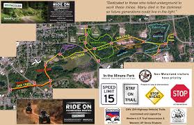 Snowmobile Trail Maps Michigan by There U0027s Snow In Ironwood Time To Review The Orv Ohv Trails