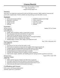 Document Control Resume Sample Best Applicator Resume Example Livecareer
