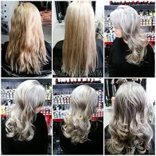 silver blonde haircolor how to silver ash blonde career modern salon