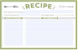free printable recipe pages 300 free printable recipe cards
