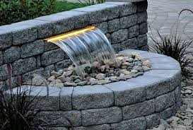 Waterfall In Backyard Pondless Waterfall Kit Garden Waterfall Kit The Pond Guy