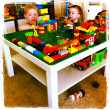 diy on a dime build a lego table lego building and diy lego table