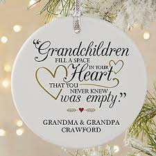 grandparent christmas ornaments personalized ornaments grandparents are special