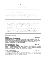 Sle Resume For A Banking credit manager resume in banks sales banking lewesmr