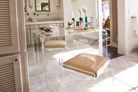 Lucite Bathroom Accessories by Among Design Set Lucite Furniture Re Emerges As Clear Favorite