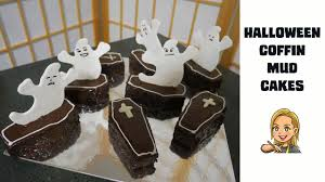 halloween coffins decorations halloween coffin mud cakes youtube