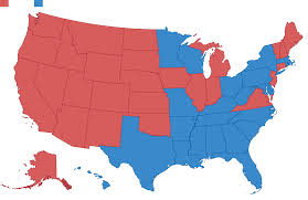 map usa bible belt 50 years of electoral college maps how the u s turned and