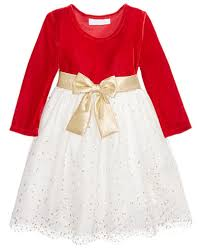 bonnie baby stretch velvet glitter mesh dress baby 0 24