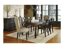 ashley dining room furniture set signature design by ashley gerlane 7 piece solid pine dining table