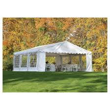 tent party shelter logic 20x20 party tent and enclosure kit white target