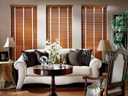 Modern Blinds For Living Room Hunter Douglas Parkland Wood Blind By Danmer California