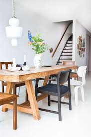 Pintrest Wood by Best 25 Wooden Dining Tables Ideas On Pinterest Rustic Dining