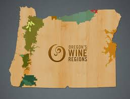 Portland Oregon County Map by Explore Oregon Wine Regions Oregon Wine