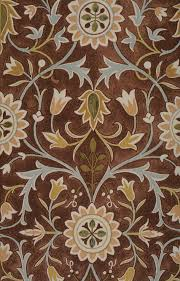 Textile Design Interior Nice Brown William Mirros Rug Design Ideas With Beautiful