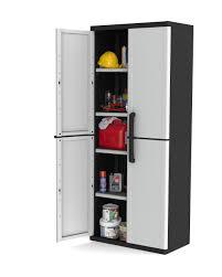 Keter Plastic Keter Space Winner 4 Shelf Utility Cabinet